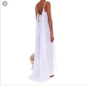 Loup Charamant • cotton seersucker maxi dress